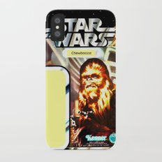 Chewbacca Vintage Action Figure Card Slim Case iPhone X