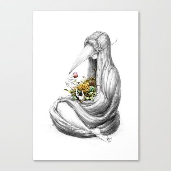 Bowerbird II Canvas Print
