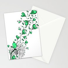 Song about love Stationery Cards