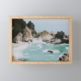 big sur / california Framed Mini Art Print