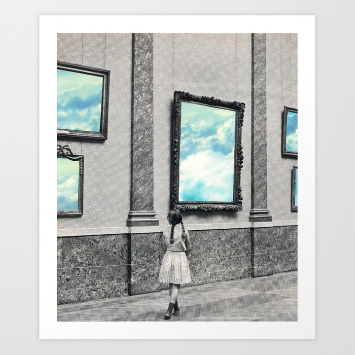 Cloud curator Art Print
