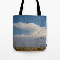 giants Tote Bags featuring Giants by Claire Laminen Photo