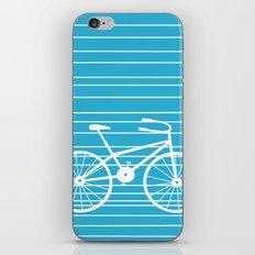 Blue Bike by Friztin iPhone & iPod Skin