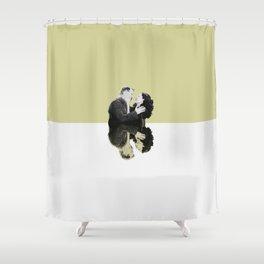 Cristina and Owen Shower Curtain