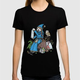 On the wizard and his outdoor studio friend. T-shirt