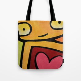 Robot - Mesmerized By You Tote Bag