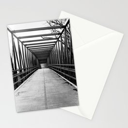 Bridge to Nowhere Black and White Photography Stationery Cards