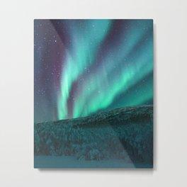Hello aurora Metal Print