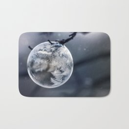 When the world freezes Bath Mat