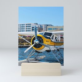 Seaplane in Seattle Mini Art Print