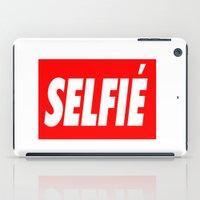 selfie iPad Cases featuring Selfie by Poppo Inc.