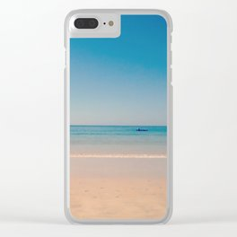play azul Clear iPhone Case