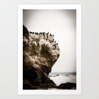 Misty Malibu Art Print
