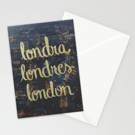LONDRA/LONDRES Stationery Cards