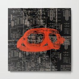 Circuits Metal Print