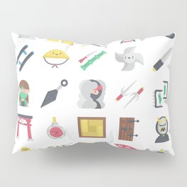 CUTE NINJA PATTERN Pillow Sham