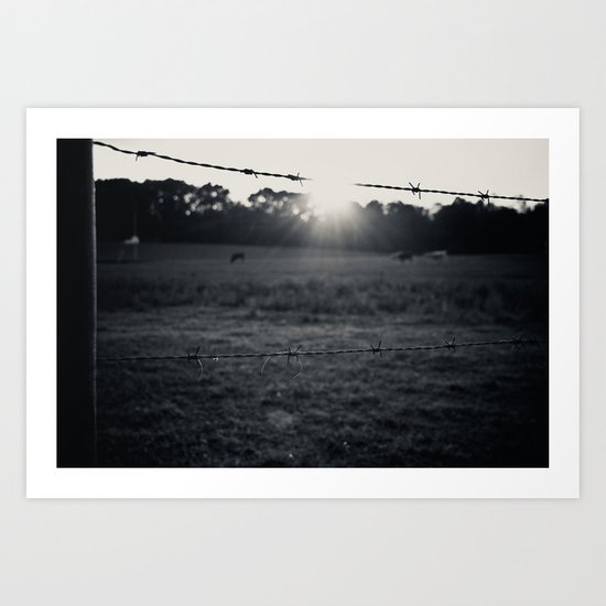 Locals Only - Augusta County, Virginia Art Print