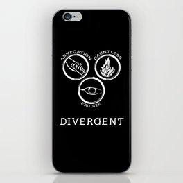Divergent (White) iPhone Skin