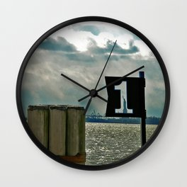 LIBERTY FIRST - High Wall Clock