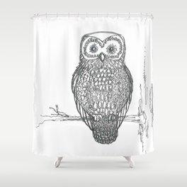 Owl & co. Shower Curtain