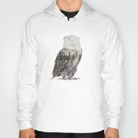andreas preis Hoodies featuring Arctic Owl by Andreas Lie