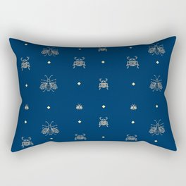 ABEILLE & SCARABE Rectangular Pillow