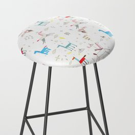 Merry-go-round Bar Stool