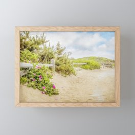 Roses at Marconi Beach Framed Mini Art Print