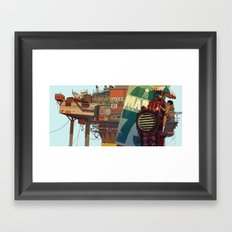 0_R Framed Art Print
