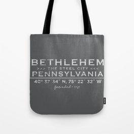Bethlehem, Pennsylvania Tote Bag