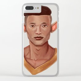 Chad, the Karate Elf Clear iPhone Case
