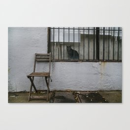 Empty Seat Canvas Print