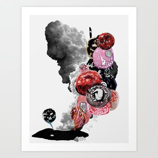 Stones Alive Art Print