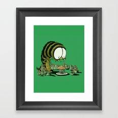 Huuungry! Framed Art Print