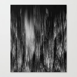 rain drop night Canvas Print