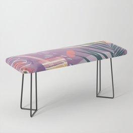 Summer Pastels Bench