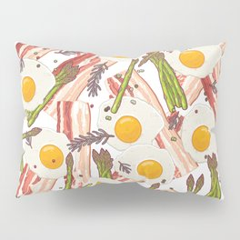 Breakfast pattern Pillow Sham