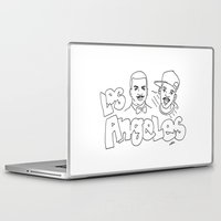 los angeles Laptop & iPad Skins featuring Los Angeles by elle stone