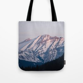 Golden Hour in the Rockies Tote Bag