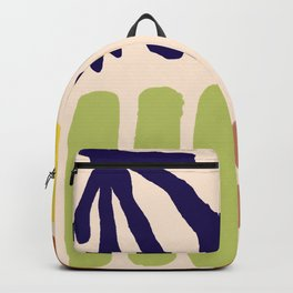 Color Study Matisse Inspired Backpack
