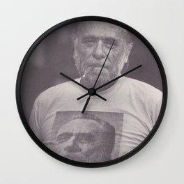 Bukowski Squared Wall Clock