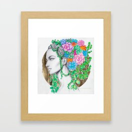 The Botanist Framed Art Print