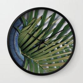 Spilling Green  Wall Clock