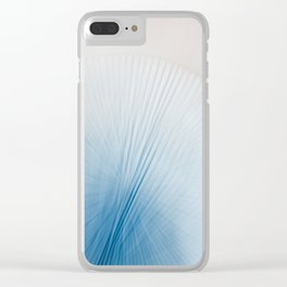 Drawing Lines II Clear iPhone Case