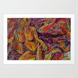 Discretion Art Print