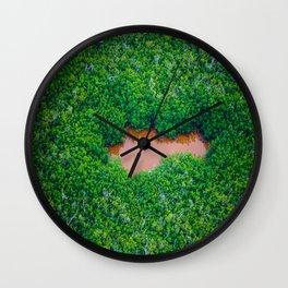 Ojo de Vida Wall Clock