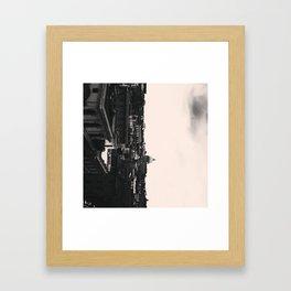 .complete half. Framed Art Print