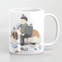 Waiting Anderson Coffee Mug