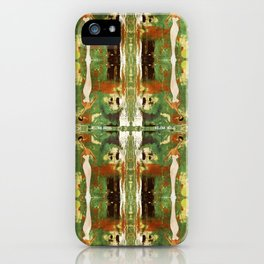 Out there in the woods, I feel peace........ iPhone Case