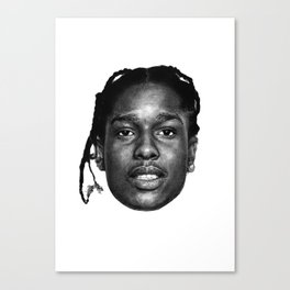 A$AP ROCKY PORTRAIT Canvas Print